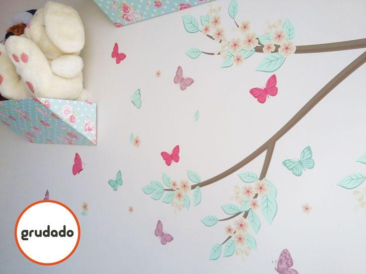 Adesivo de Parede Infantil |Grudado | Nursery