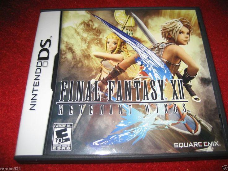 Final Fantasy XII: Revenant Wings  Nintendo DS, DSI , 2DS, 3DS, 3DS XL, NDS NEW Check out #FinalFantasy XII: Revenant Wings  #Nintendo #DS #DSI  #2DS #3DS #3DSXL #NDS NEW  http://www.ebay.com/itm/-/251635531284?roken=cUgayN&soutkn=2J7CcL via @eBay #ebay #etsy
