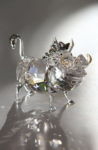 Swarovski Crystal Disney Collection The Lion King Pumbaa