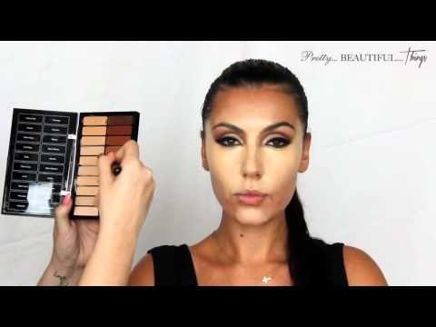 ▶ [HD] Makeup Artist Make Up Tutorial Kim Kardashian Professional Get The Look Tutorial 2014 - YouTube