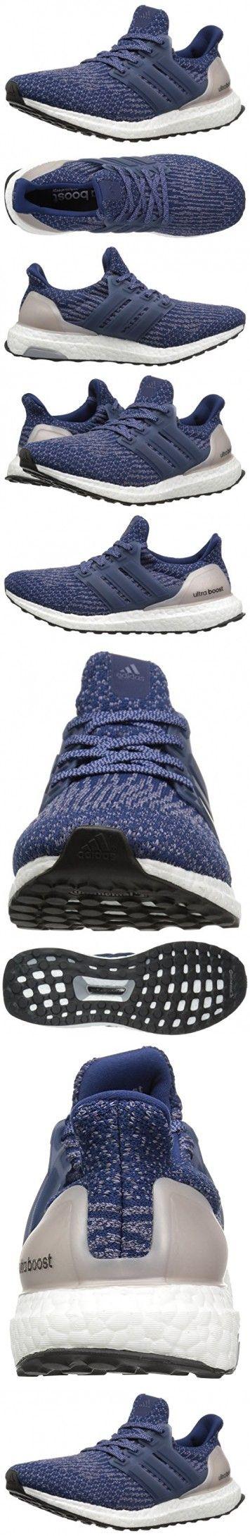 Adidas Performance Women's Ultraboost w Running Shoe, Mystery Blue/Mystery Blue/Vapour Grey, 8.5 M US
