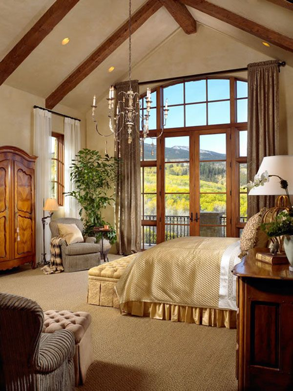 Bedroom with terrific view!