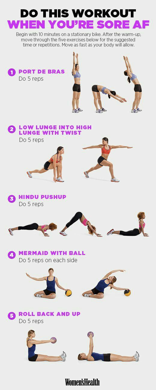 Amazing workout routine