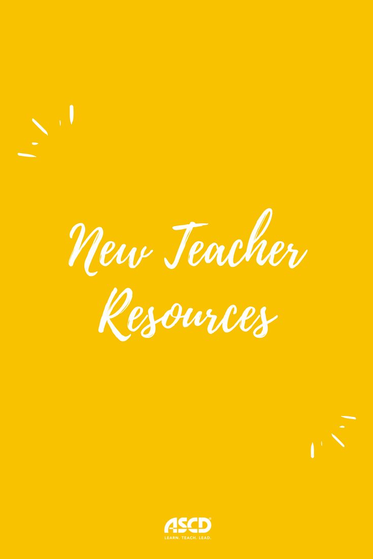 All the resources, suggestions, and activities for new teachers! Welcome to the wonderful world of education!