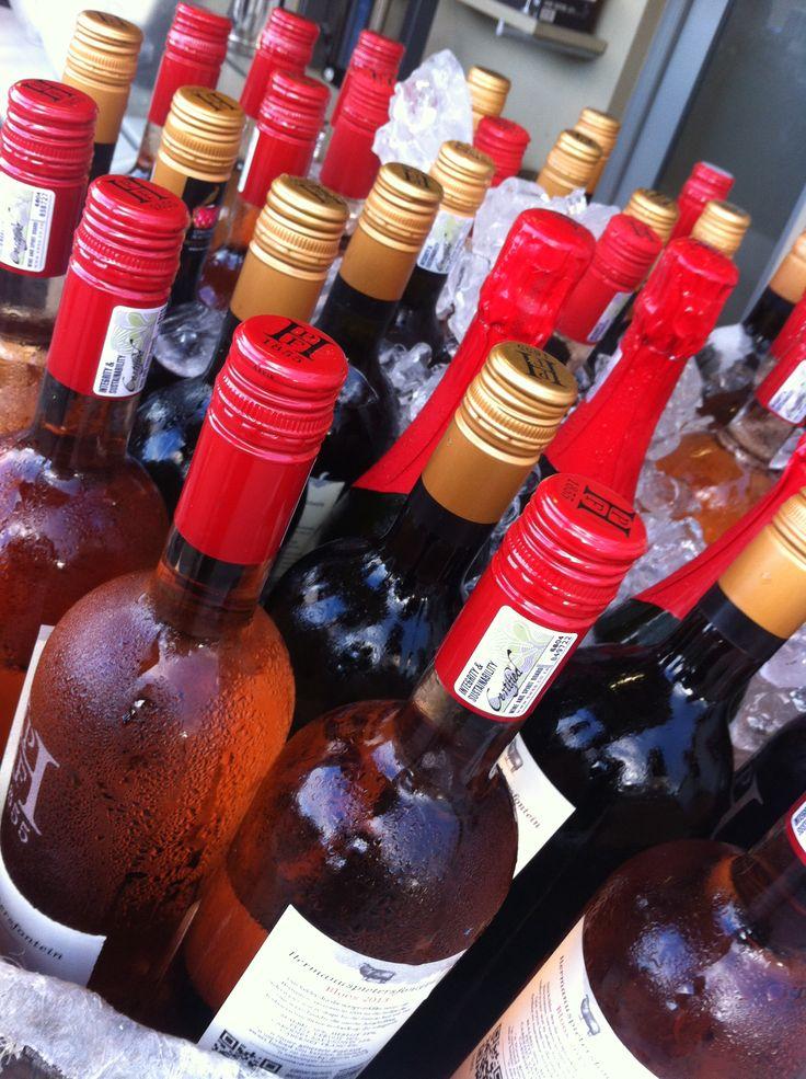 Taste our whole range of wines at the market.  #Hermanuspietersfontein