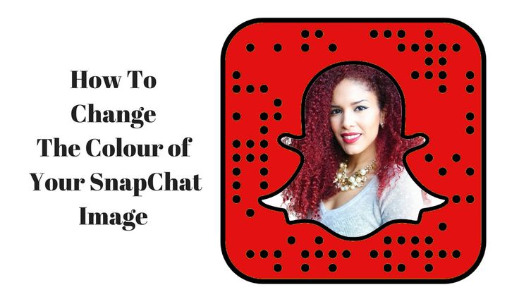 Changing Snap Chat Image Colour For Your Brand + Bonus Tip
