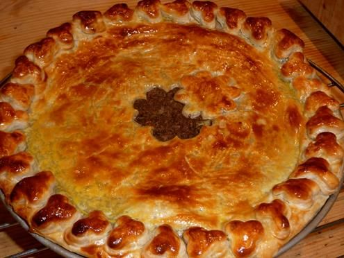 French Canadian Meat Pie (Tortiere) image