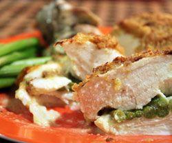 Kylling-asparges ruller