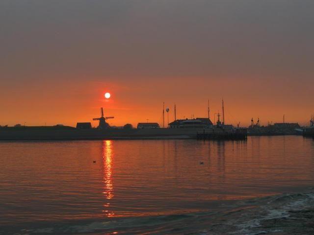Oudeschild, Texel, Nederland...