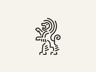 30 Tremendous Lion Logos