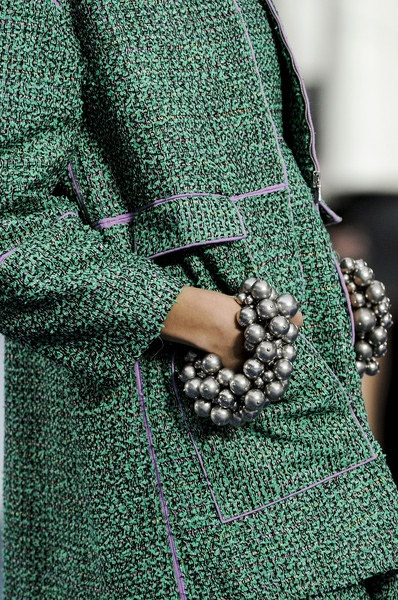 Drops of Pearls!  Pearls Bracelets Trendfor Spring Summer 2013.  Chanel Spring Summer 2013.#jewelry #trends
