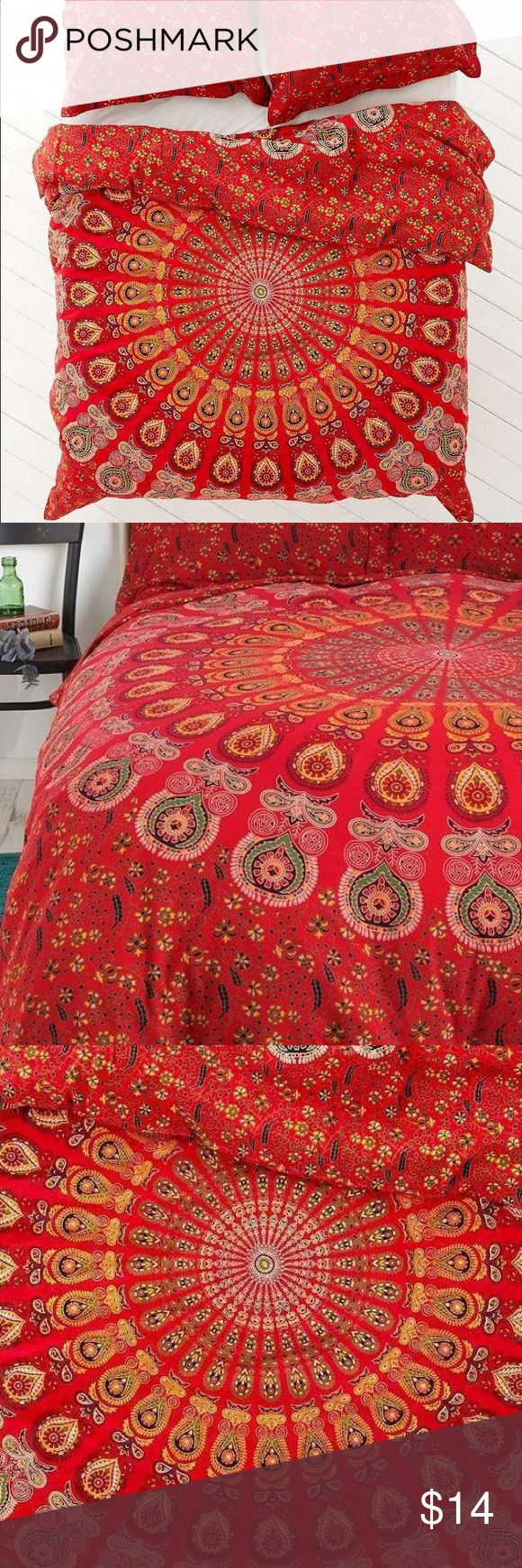 Red bed sheet texture - Urban Outfitters Red Duvet Cover Comforter