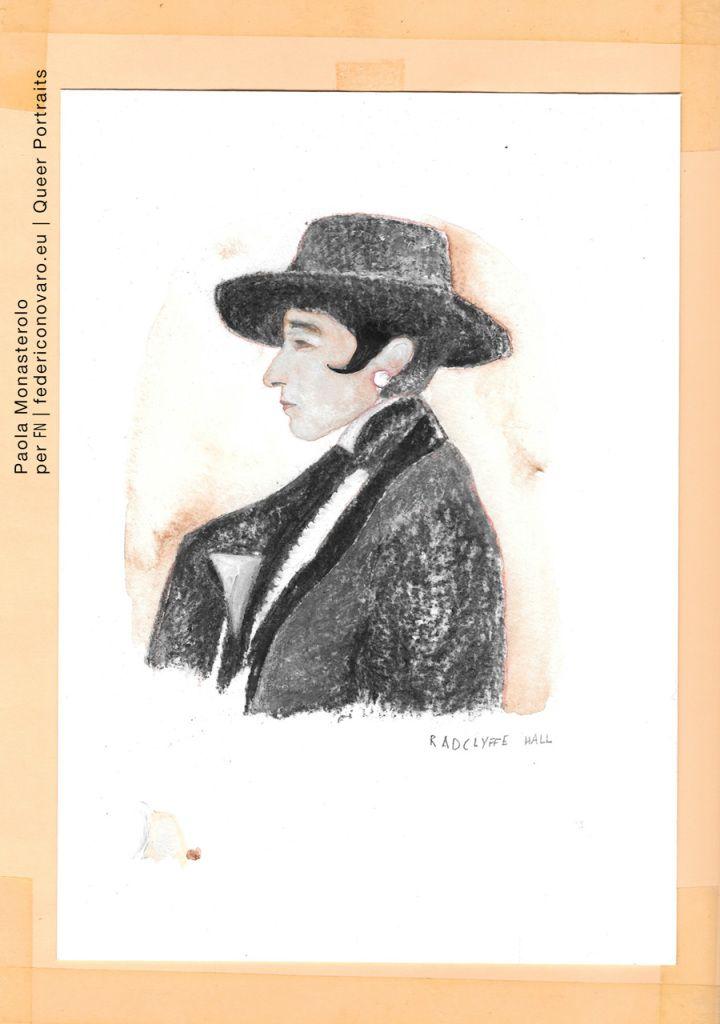 MARGUERITE RADCLYFFE, di Paola Monasterolo. QUEER PORTRAITS, 28. - feat. Federico Boccaccini www.federiconovaro.eu