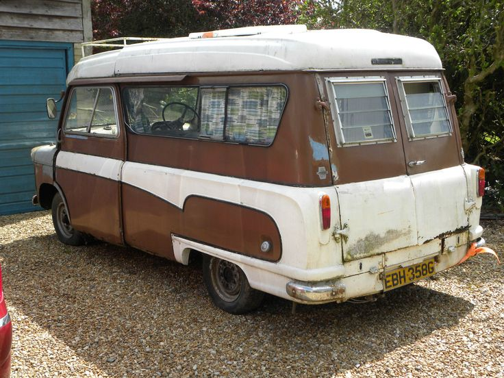 BEDFORD CA DORMOBILE CAMPER BARN FIND STORED SINCE 1980S