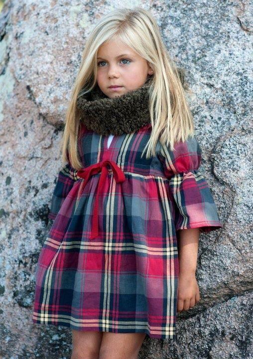 tartan children's fashion