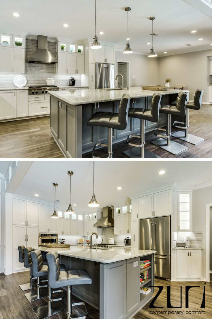 The Lush Bar Stools are the perfect addition to the modern kitchen or dining room. The Lush Bar Stools are modern and will fit in to every decor style and come in a variety of styles. We love how this customer used the Lush Bar Stools to use at their gorgeous island.