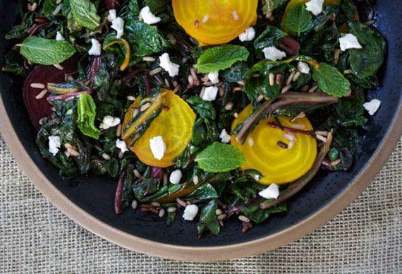 Warm Winter Salad via @Etsy Blog | Looks DELISH! | Pinterest