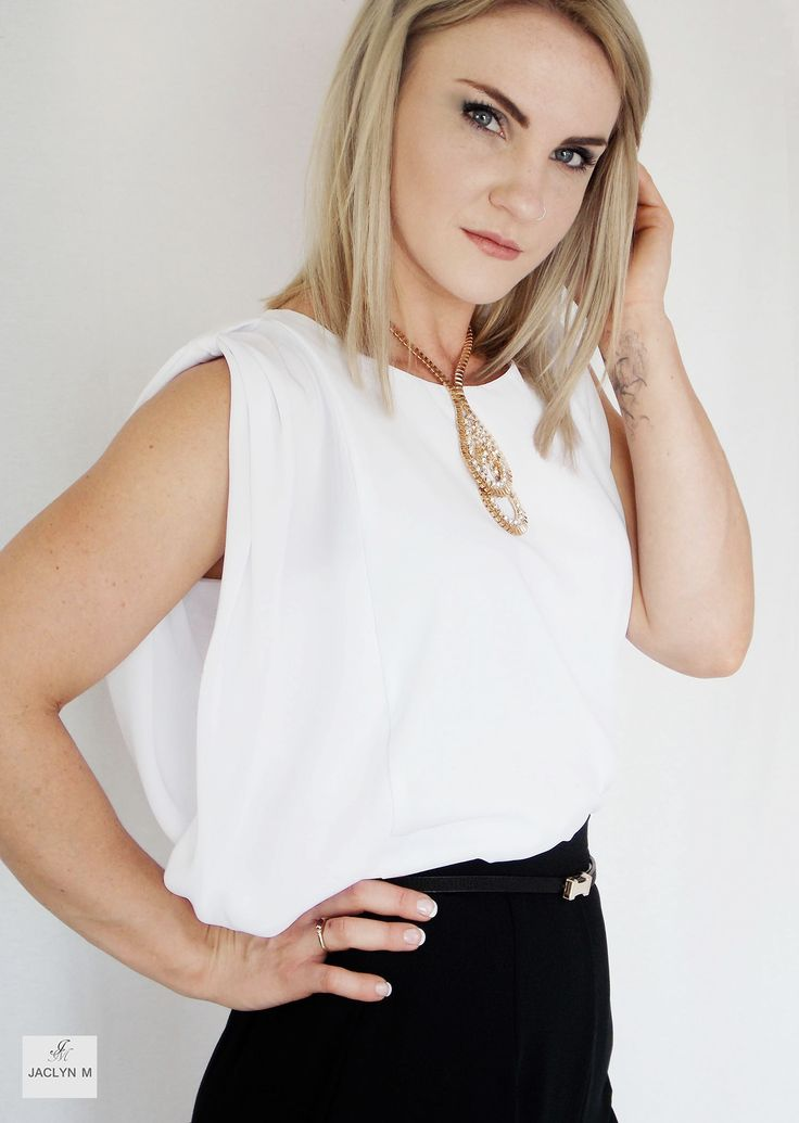 JACLYN M -Florentine pant-Devon Drape top