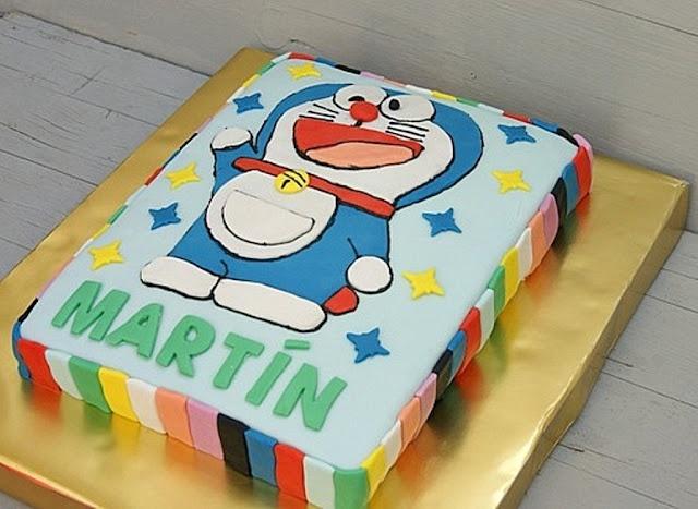 Tarta Doraemon: Tartas Fondant, Tarta Doraemon, Tarta Fondant