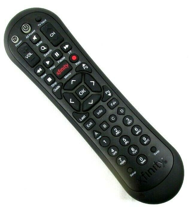 Xfinity Comcast Remote Control Xr2 V3 R Black Comcast Remote Control Remote Comcast