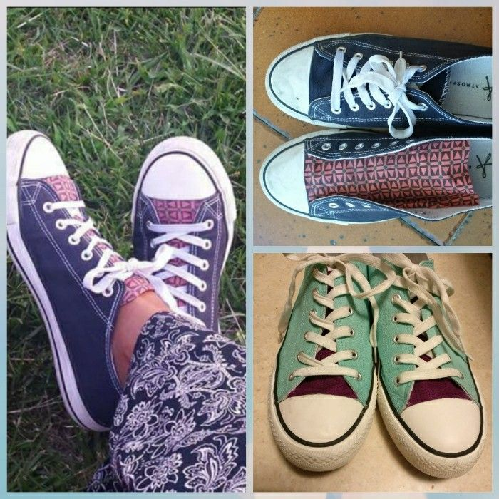 Upcycling - Shoes (August 2016  & May 2017)