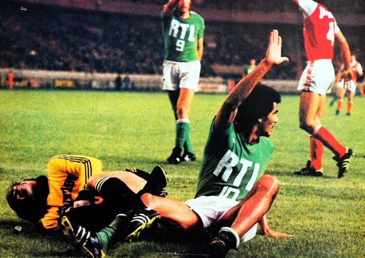 Finale coupe de France 1977. ST-ETIENNE-STADE DE REIMS. ~ THE VINTAGE FOOTBALL CLUB