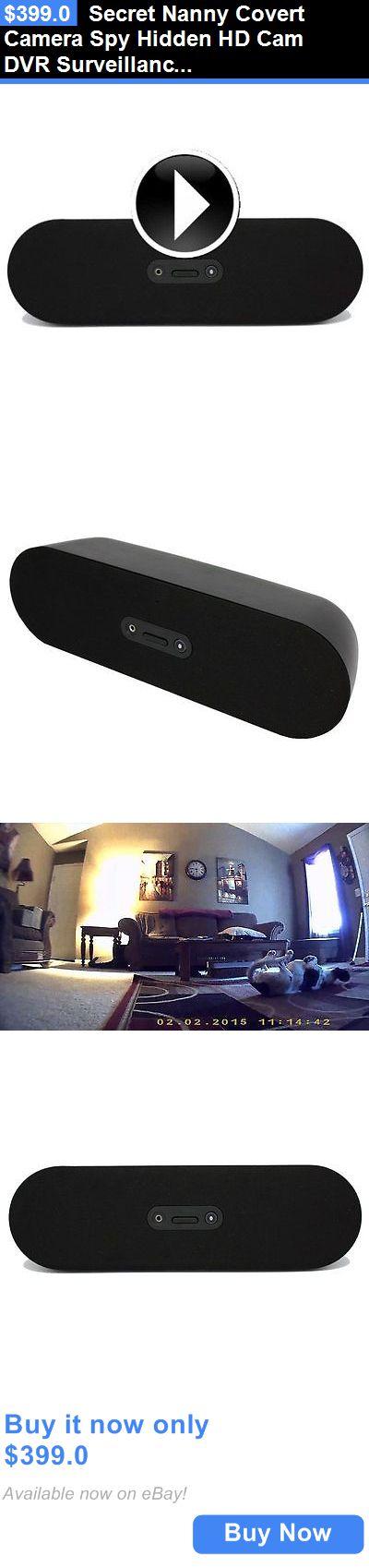 Surveillance Gadgets: Secret Nanny Covert Camera Spy Hidden Hd Cam Dvr Surveillance Bluetooth Speaker BUY IT NOW ONLY: $399.0