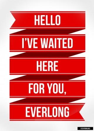 "Foo Fighters, ""Everlong"""