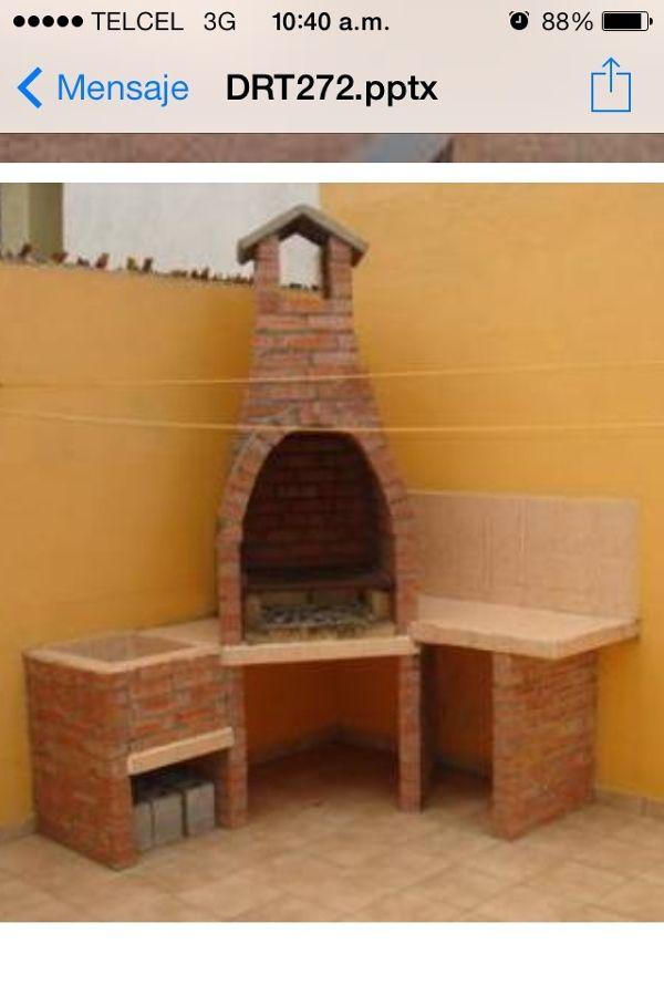 Construcción de asador en patio - Saltillo (Coahuila) | Habitissimo