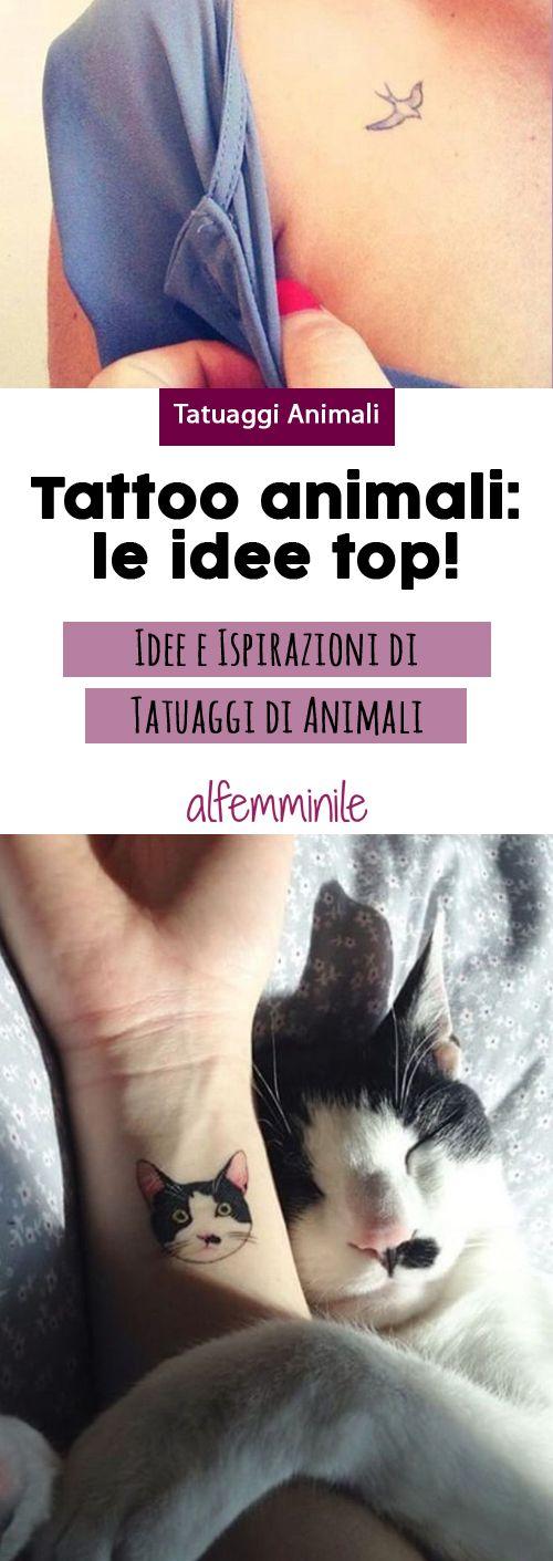 Tatuaggi animali: le idee più originali per te!