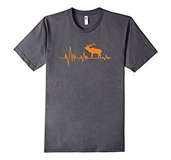 Amazon.com: ARIZONA ELK HEART RATE HUNTING TEE Front and Back Design: Clothing
