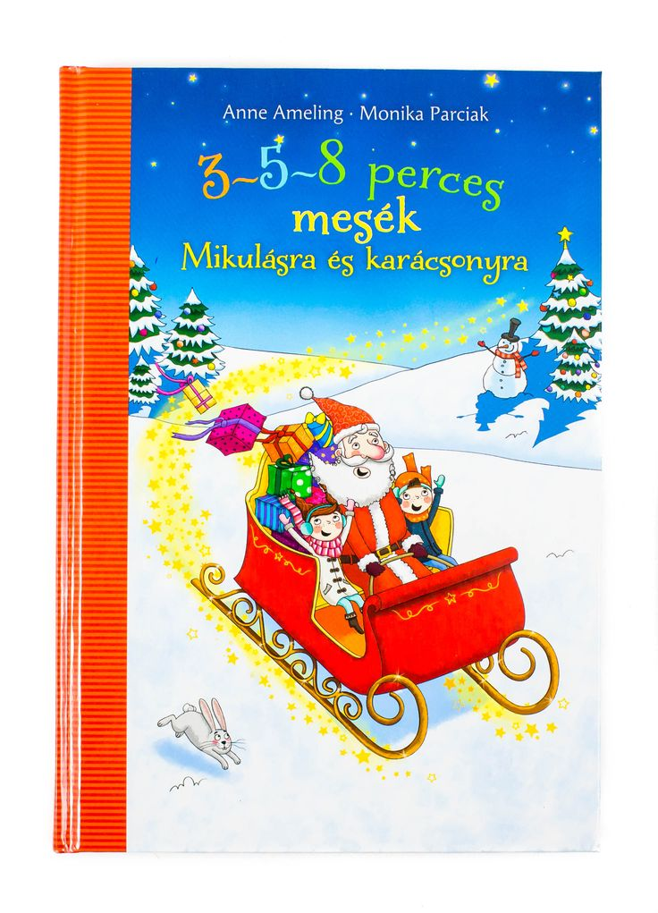 Újabb, a karácsonyi várakozást színesítő könyv mutatkozik be. Ezúttal a napjainkra mostanában duplán jellemző időhiány felől közelítettük meg a meséket. #advent #karacsony #rovidmesek #mese #konyv #gyerekkonyv #Pagony #AnneAmeling