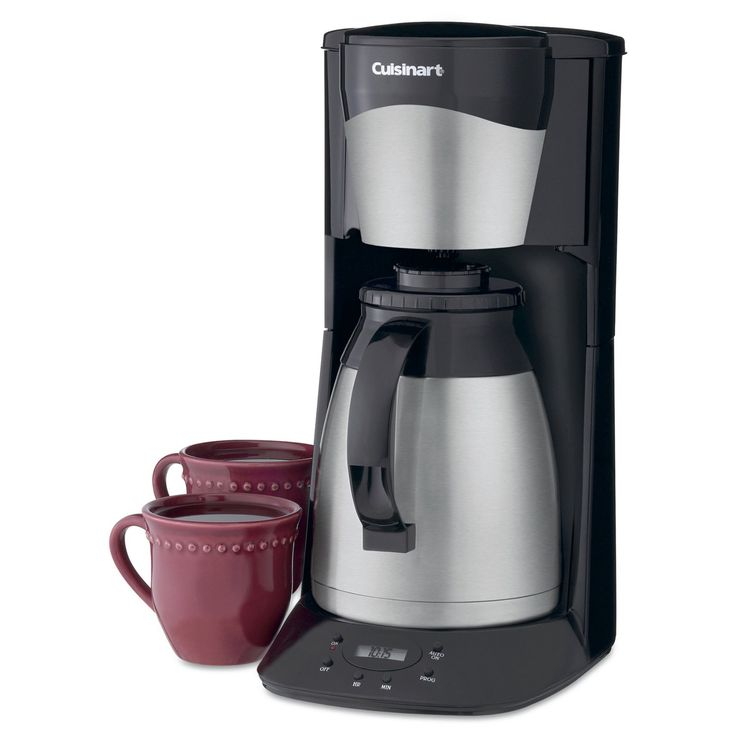 Cuisinart DTC-975 12-Cup Programmable Thermal Coffeemaker - Black & Stainless - DTC-975-BKN