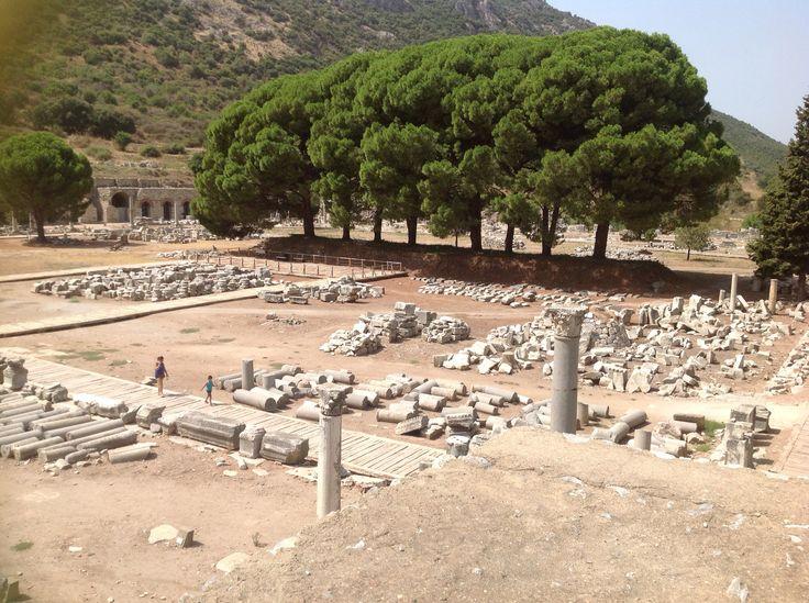 The agora, Ephesus, Turkey.