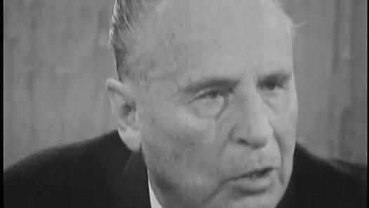 Oswald Mosley interview with David Frost (15th Nov 1967)
