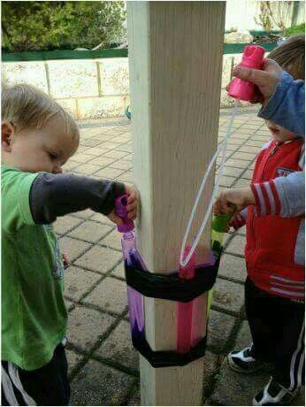 Parent hack for bubbles....I NEED to do this for Athan