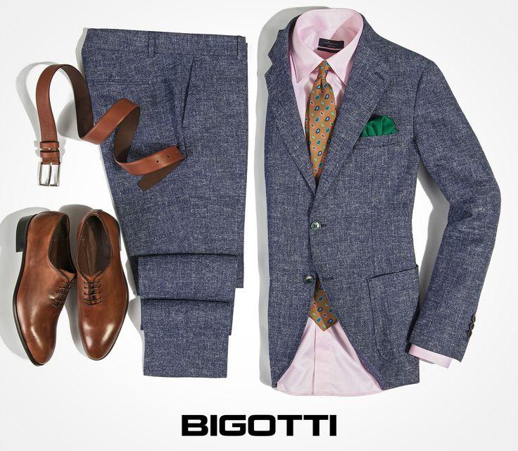 The #Bigotti #cotton-#linen #suit - for an #impeccable #summer #look www.bigotti.ro #Bigottiromania #moda #barbati #mensfashion #menswear #mensclothing #mensstyle #costume #vara #ootdmen #ootd #wardrobe #garderoba #confort #stil #masculin #followus #bumbac #in