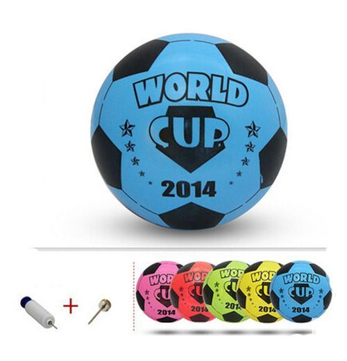 Inflatable Soccer Balls Pool Party Favor Soccer Ball for Kids Blue,8.3''
