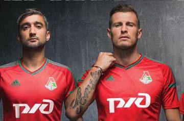 FC Lokomotiv Moscow 2015/16 adidas Home, Away and Third Kits