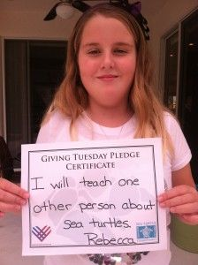 Welcome Sea Turtle Conservancy to #GivingTuesday!
