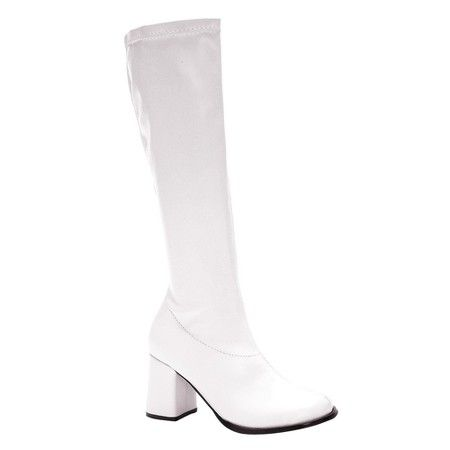 Adult Gogo Boots White Size 9 : Target