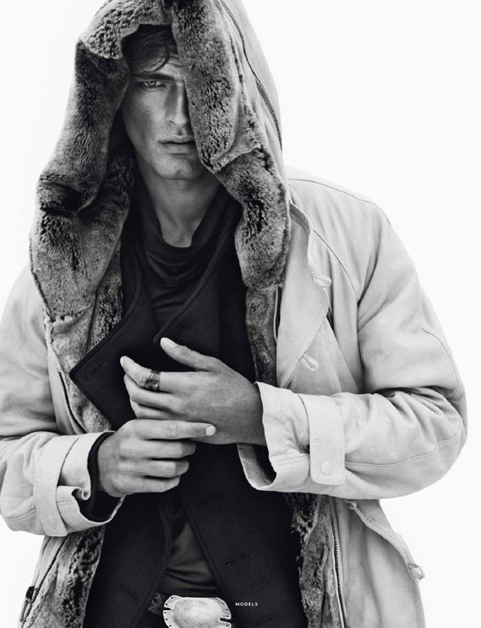 vhi fall winter 2013 0001 Sean OPry, Garrett Neff, Mathias Lauridsen + More for Vogue Hommes International
