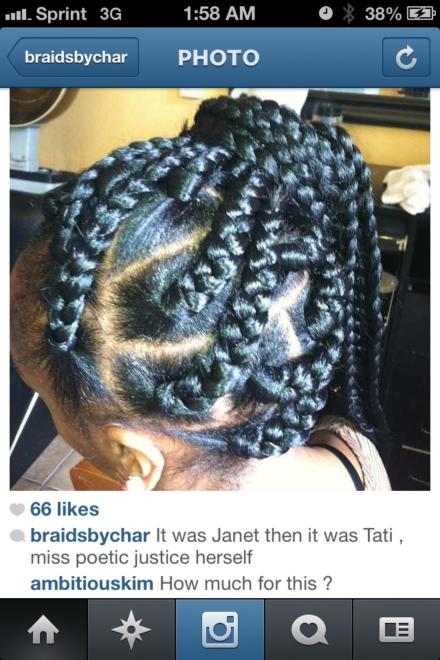 chunky box braids on little women little girl hair ideas