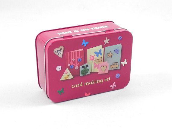 Kids craft kit kids card making kit kids by FromLofttoLoved