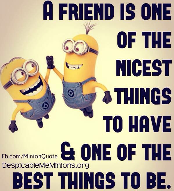 。◕‿◕。 A friend is one of the nicest things to have & one of the best things to be. - INDEED!