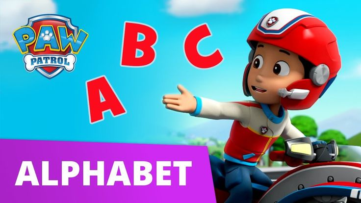 Paw patrol learn your abcs a is for adventure bay