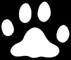 sjabloon hondenpoot sjablonen hondenpoten prints