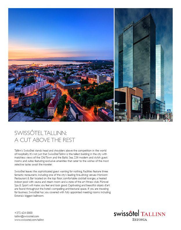 Swissotel Magazine Ad on Behance