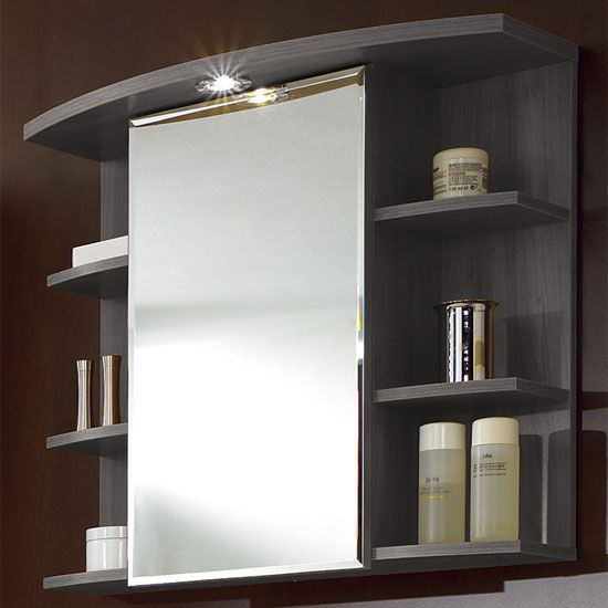 Madrid1 Bathroom Wall Cabinet In Plumtree And White With 1 Door - Best 25+ Wooden Bathroom Cabinets Ideas Only On Pinterest