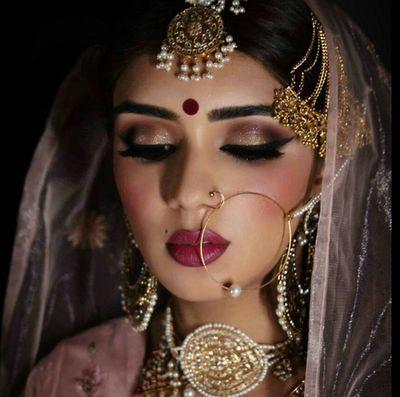 Like the makeup.